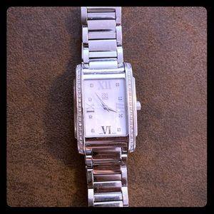 Silver Michael Kors woman's watch!!